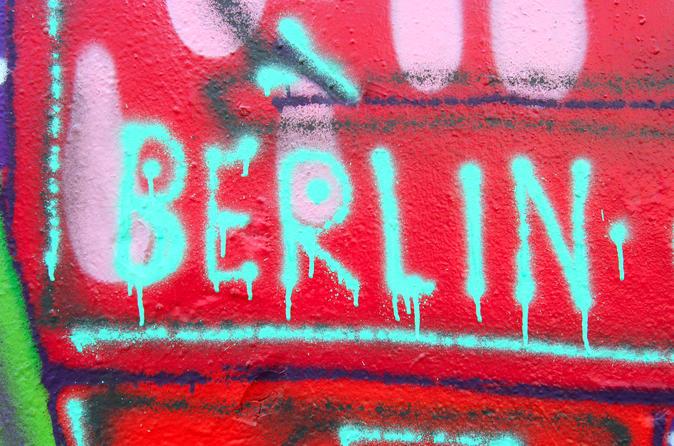 Excursão a pé fora do caminho comum em Berlim: Kreuzberg, Mitte e Friedrichshain