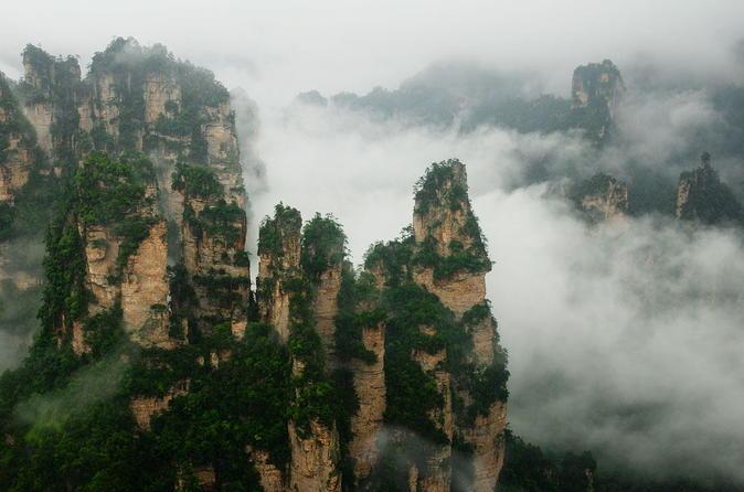 2 day zhangjiajie tour tianmen and tianzi mountain in zhangjiajie 223062