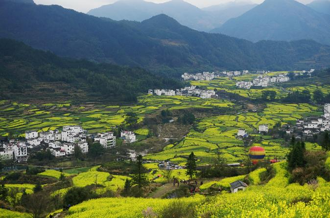 3 Days Wuyuan Scenic Area Private Tour from Shanghai by Train