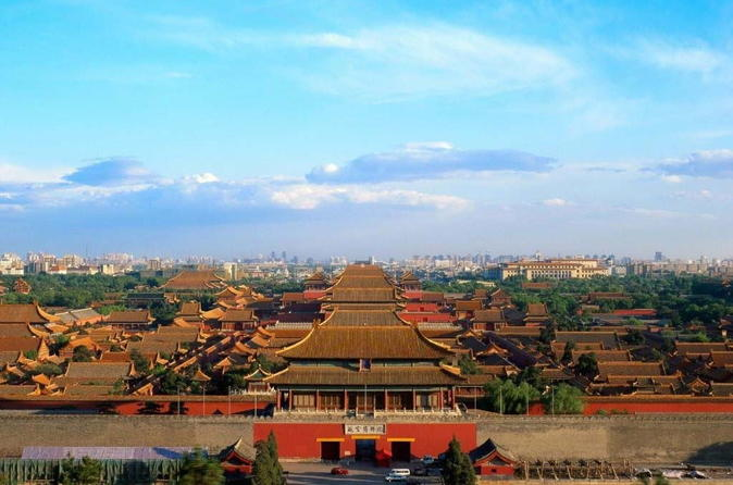 Beijing Day Trip of the Forbidden City, Hutong, Jinshan Park and the Lama Temple