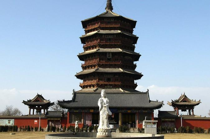 Datong day tour of yungang grottoes and ying xian wooden pagoda in datong 234834