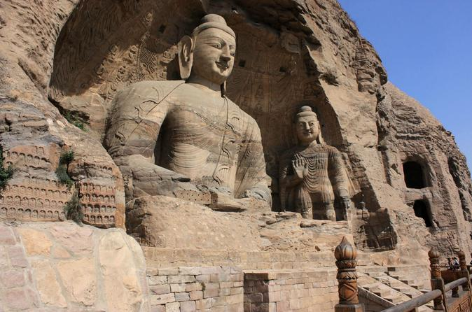 Day Trip to Yungang Grottoes and Hengshan Hanging Temple from Datong
