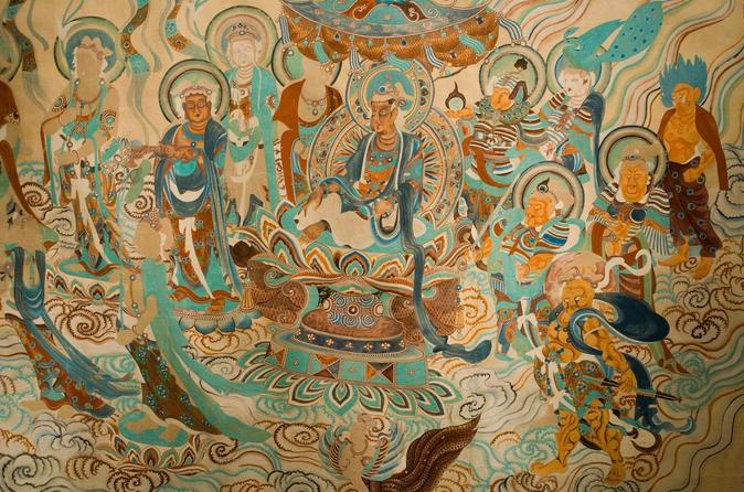 Dunhuang silk road adventure day tour mogao grottoes and crescent in gansu 230642