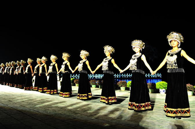 Guilin Evening Show: Impression Sanjie Liu Show in Yangshuo including Hotel Transfer China, Asia