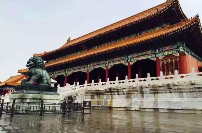 Full-Day Tour including Forbidden City, Summer Palace and Temple of Heaven with Acrobatic Show and Peking Duck Dinner