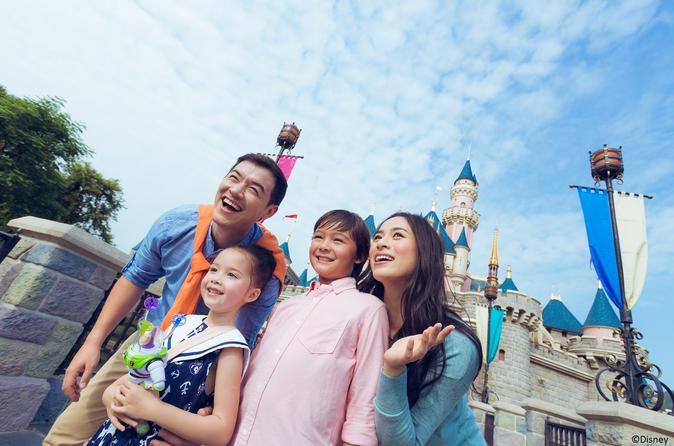 Hong Kong Disneyland Admission E-Ticket