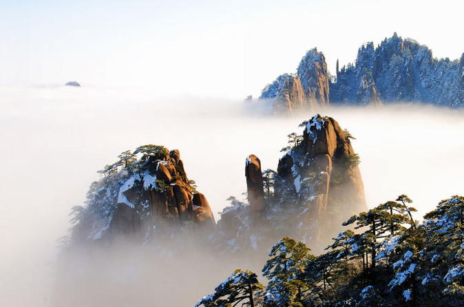 Huangshan 2 day tour including the yellow mountain and hongcun village in huangshan 223045