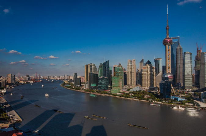 Modern Shanghai in A Day: Bund, Sightseeing Tunnel, Jinmao Tower, French Concession and Shopping Tour
