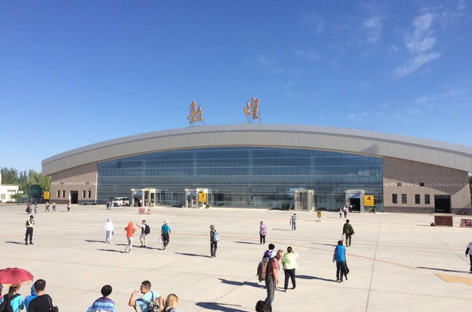 Private Arrival Transfer: Dunhuang Airport (DNH) to Dunhuang Hotels