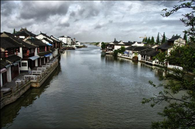 Private Day Trip from Shanghai to Zhujiajiao Ancient Water Village Tianzifang and Tea Ceremony