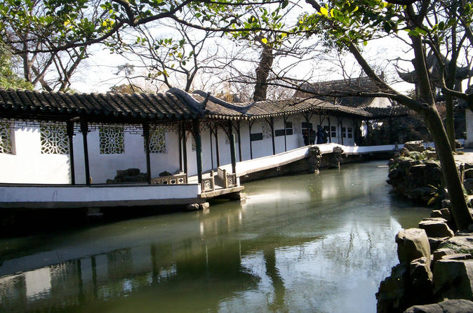 Private Day Trip to Suzhou Gardens, Pingjiang Road and Canal Boating from Shanghai by Bullet Train