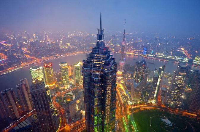 Shanghai Jin Mao Tower Observation Desk Admission Ticket