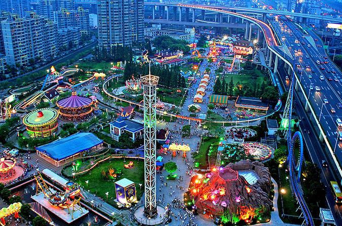 Shanghai Jinjiang Amusement Park Admission Ticket
