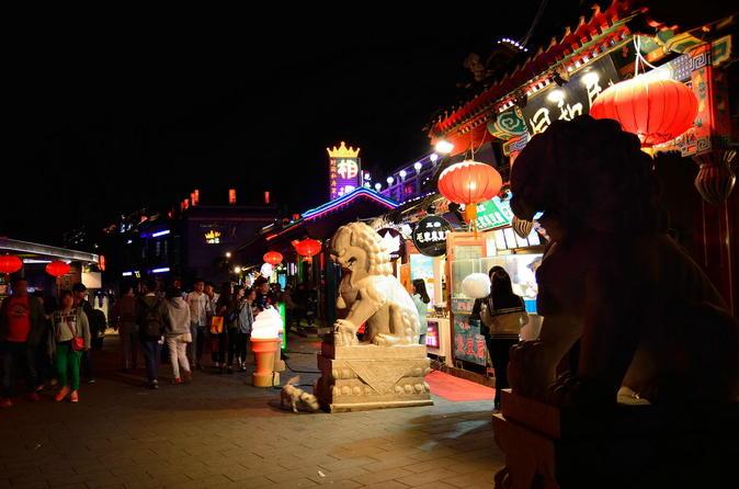 Small-Group Beijing Night Tour Including Wangfujing Night Food Market