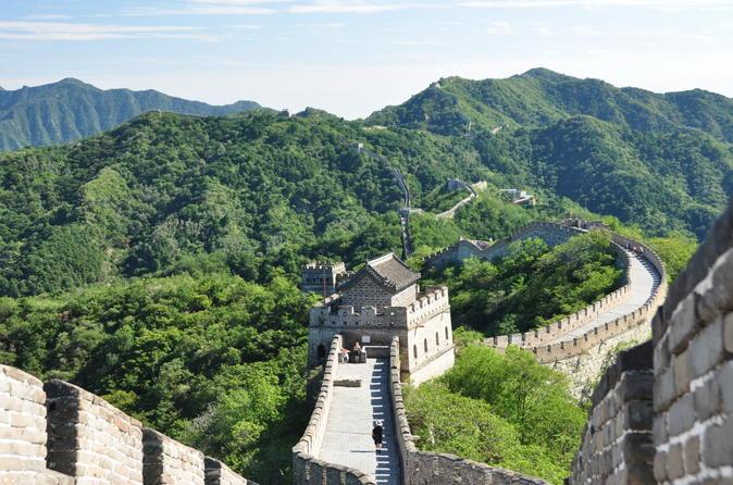 Viagem diurna em Pequim para a Grande Muralha de Mutianyu e Tumbas Ming de ônibus
