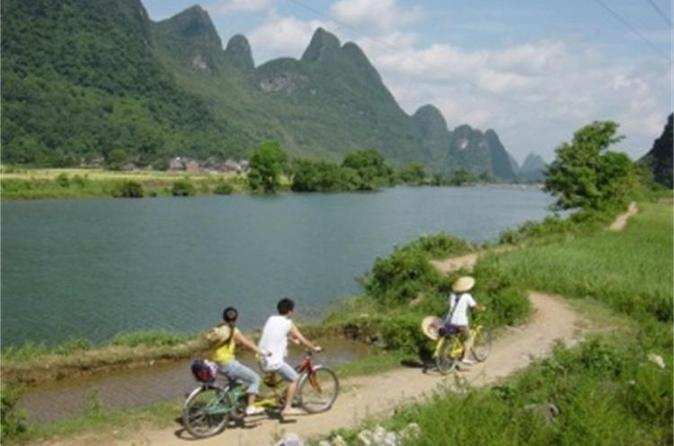 Yangshuo guided biking day tour including lunch in guilin 230310