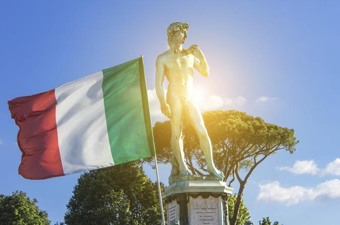 Italian Lesson and Walking Tour in Florence