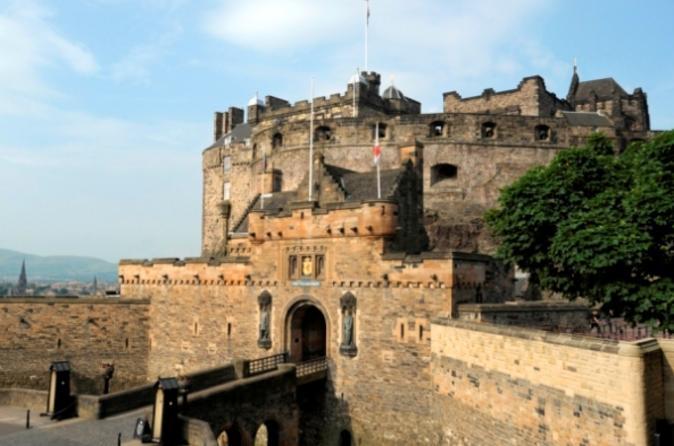 Ingresso de entrada para o Castelo de Edimburgo