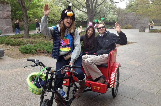 Washington DC Wine-Tasting Tour by Pedicab