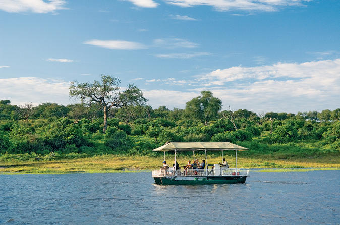 Chobe river cruise with transport from kasane in kasane 145496