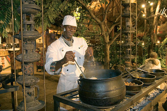 Zimbabwean Dinner, Dancing and Bongo Drums Evening at Boma in Victoria Falls