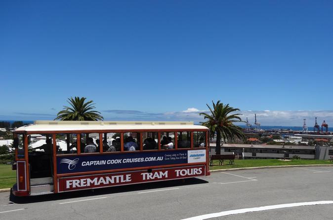Perth shore excursion fremantle hop on hop off tram tour in perth 153298