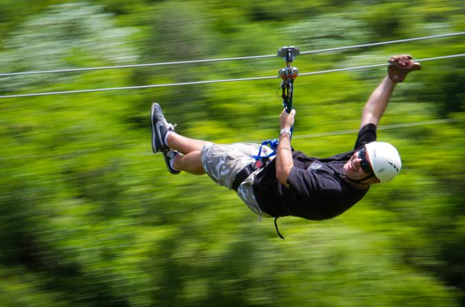 Zipline eco adventure at scape park cap cana in punta cana 219027