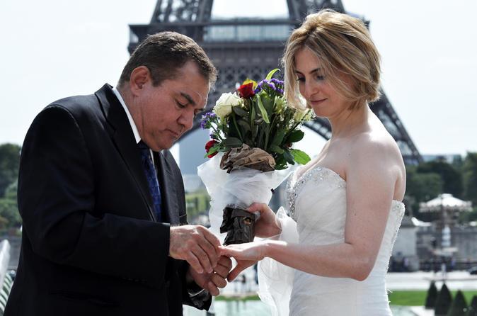 Renove seus votos de casamento em Paris