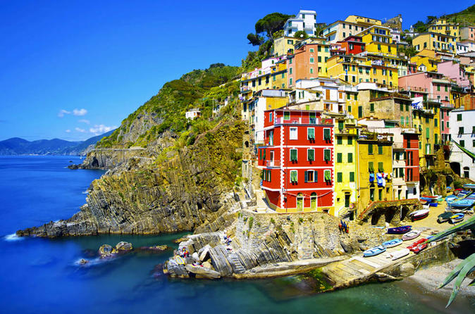 7-Day from Rome Airport:Rome, Siena, San Gimignano, Pisa, Florence, Cinque Terre