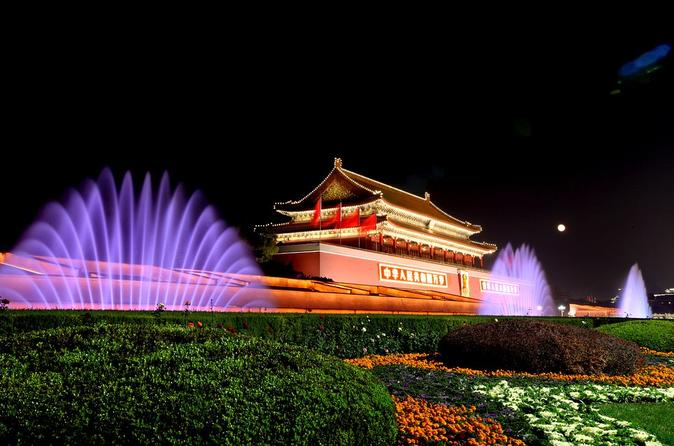 Beijing Private Night Tour with English speaking driver