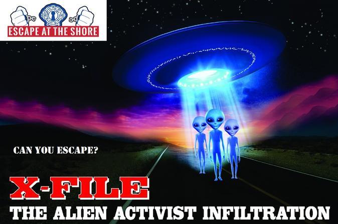 X-FILE Interactive Escape Room in New Jersey