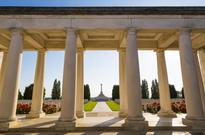 Private Tour: WWI Canadian Battlefields Including Vimy Ridge and Last Post Ceremony in Ypres from Brussels