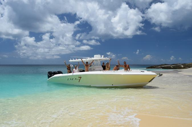 St Maarten Speed Boat and Snorkeling Tour