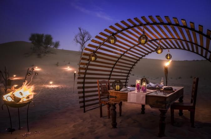 Luxury Dinner in the Desert Experience from Dubai