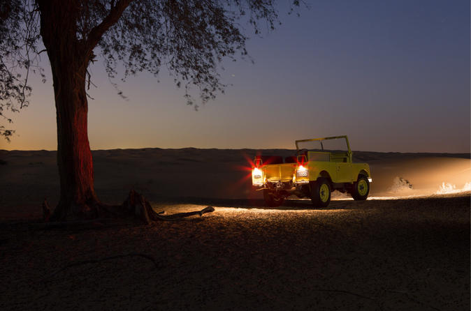 Private Tour: Night Desert Luxury Safari with Transport from Dubai