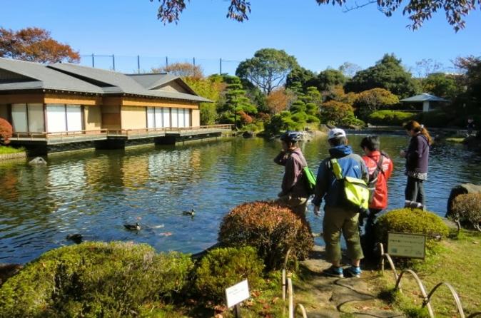 Tóquio de Bicicleta: Edogawa, Incluindo o Aquário de Vida Marinha e o Parque Kasai Rinkai