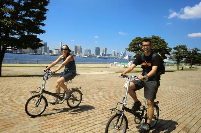 Tóquio de Bicicleta: Mercado Tsukiji e Odaiba, incluindo Cruzeiro na Baía de Tóquio