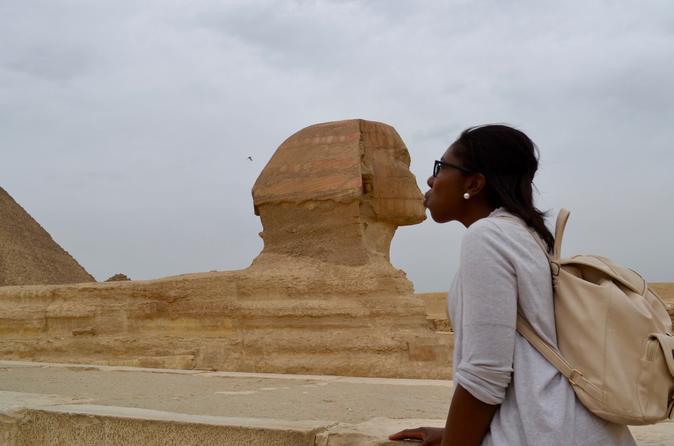 cheapest tour Giza pyramids hanging church Coptic cairo