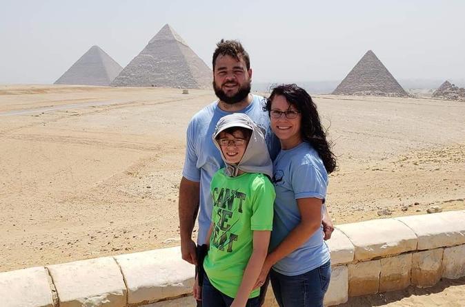 Giza pyramids, Memphis & Sakkara day tour