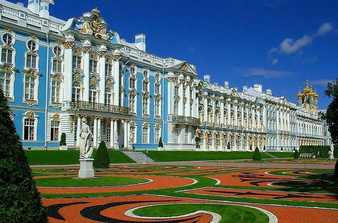 Catherine Palace Tour with a guide expert
