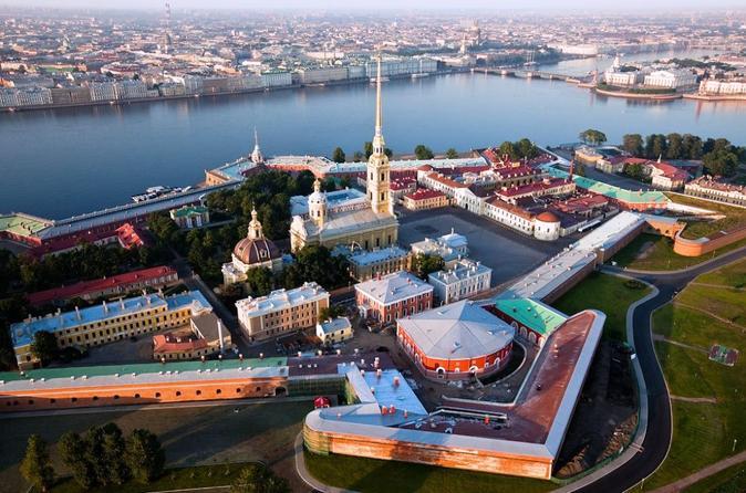 Four Hour City Tour of St Petersburg