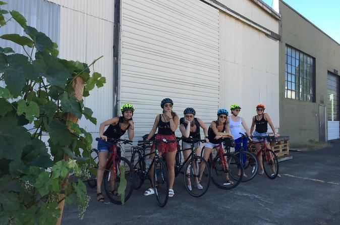Eastside Distillery Row Bike Tour: Brew, Barrel Age, Grow