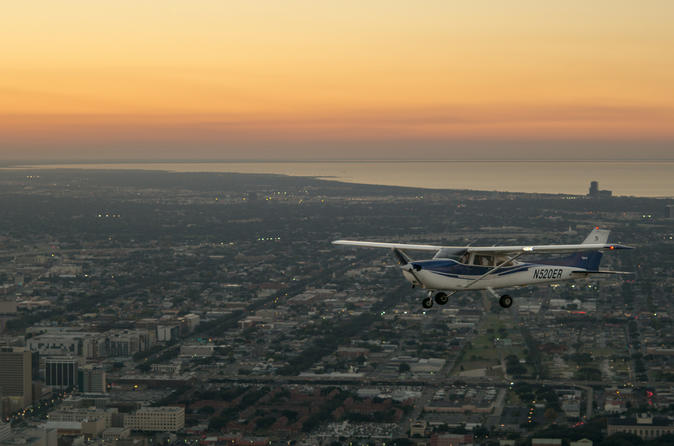 New Orleans Night Sightseeing Flight