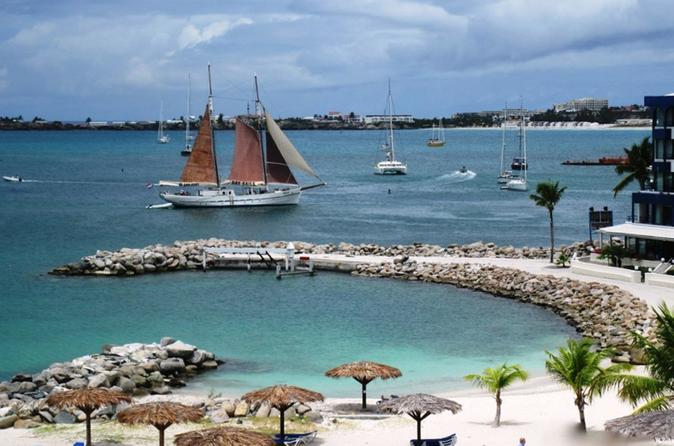 St Maarten Shore Excursion: Gourmet Sailing and Snorkeling Cruise