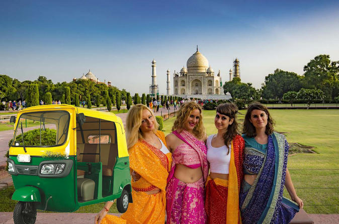Agra Tour With Taj Mahal, Agra Fort & Mehtab Bagh By Tuk Tuk - Delhi