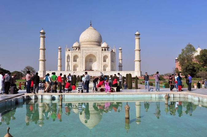 Sunrise Taj Mahal and Agra Fort Private Tour from Delhi