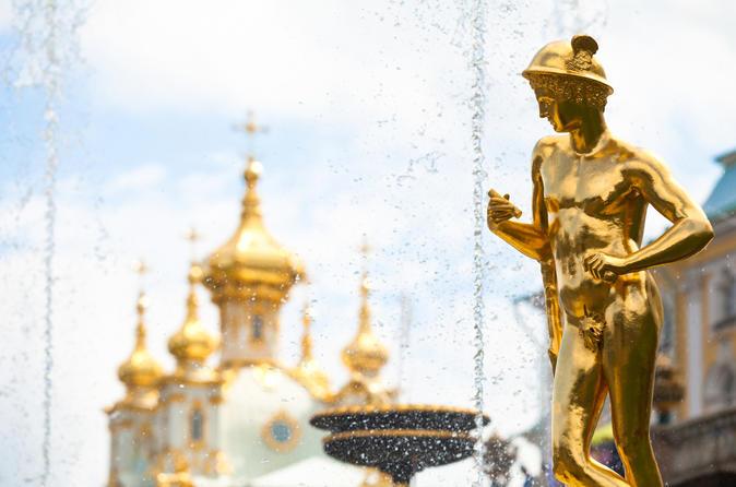 Excursión por la costa de San Petersburgo: Tour privado por Pushkin, Peterhof y la estación de metro