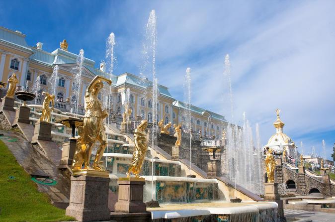 Excursión por la costa en San Petersburgo: Tour privado de 2 días por los puntos de interés de la ciudad y Pushkin