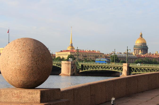 St Petersburg Shore Excursion: 2-Day City Highlights Tour by Bus