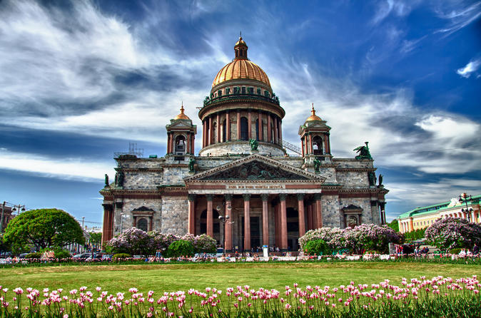 St Petersburg Shore Excursion: Small-Group City Highlights Tour Including the Hermitage